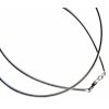SS.925 Neck Wire with clasp 18in 1.85mm 1 Pc=approx 11.4g